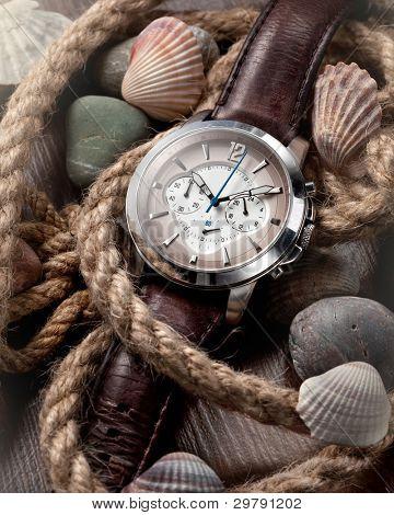 reloj clásico de los hombres
