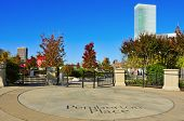 ATLANTA, USA - OCTOBER 21: Pemberton Place on October 21, 2011 in Atlanta, USA. It is a complex that