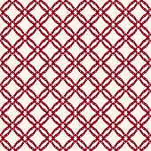 Grid Pattern. Vector Abstract Geometric Seamless Texture With Square Mesh, Net, Lattice, Diagonal Cr poster
