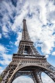 Eiffel Tower. The Eiffel Tower Is The Most Popular Tourist Spot In Paris, France. poster