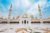 Sheikh Zayed Grand Mosque Is The Largest Mosque Of Uae, Located In Abu Dhabi The Capital City Of The poster