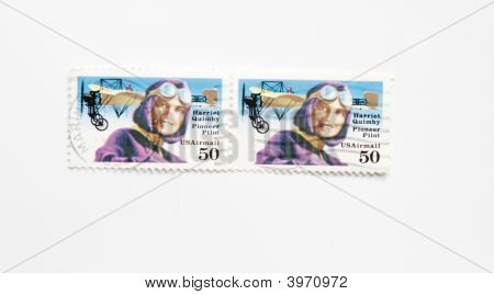 Usa Postage Stamps Of Harriet Quimbly