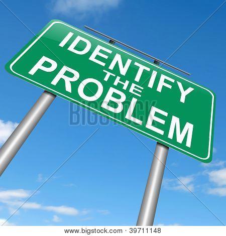 Identify The Problem.