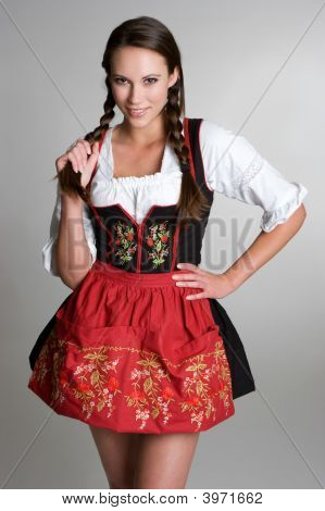 Beautiful German Girl