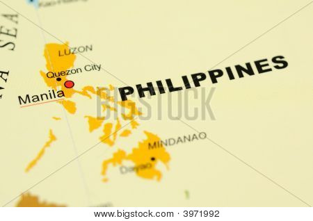 Philippines On Map