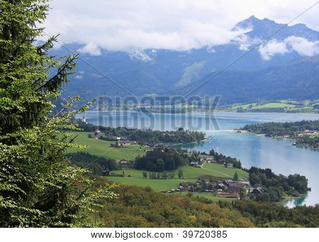 Austrian lake view