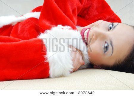 Relaxing Santa Claus