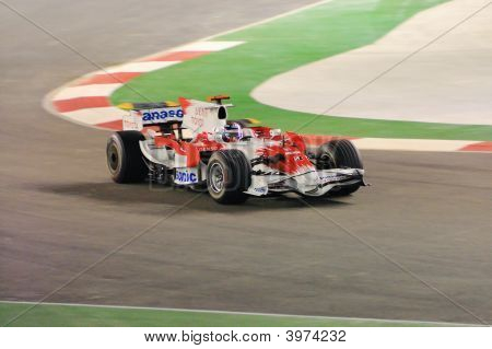 Timo Glock'S Toyota Car In 2008 F1
