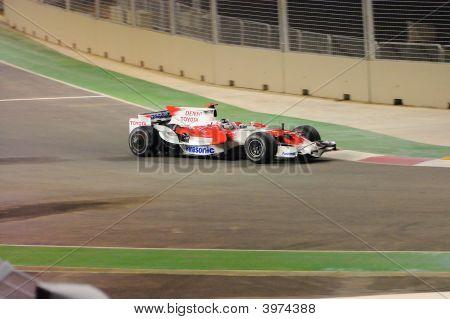 Jarno Trulli Toyota Car In F1 2008