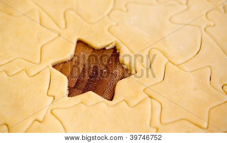 Raw Star Cookie