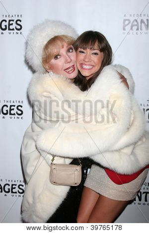 LOS ANGELES - DEC 4:  Ruta Lee, Diana DeGarmo arrives to
