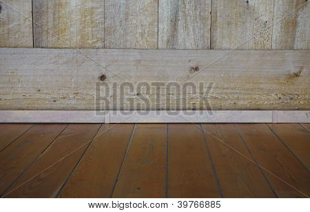 Wooden Floor. A Background