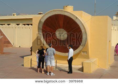Observatory At Jaipur