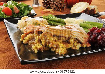 Tukey Dinner Closeup