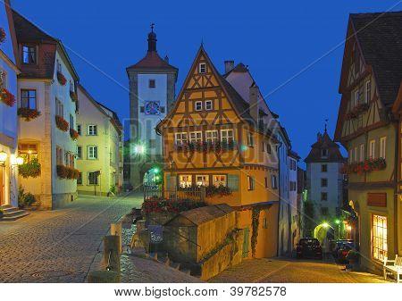 Rothenburg ob der Tauber,Germany