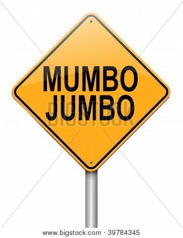 Concepto de Mumbo Jumbo.