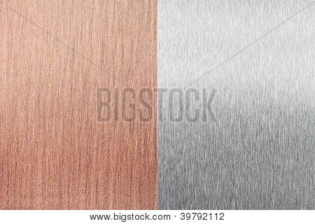 Cobre e alumínio folha (folha) de textura