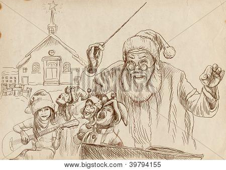 Santa Claus as conductor