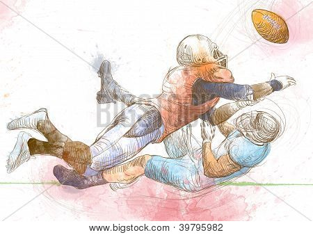 American football players