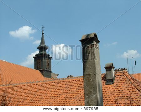 Roof Of Petrovaradin Town