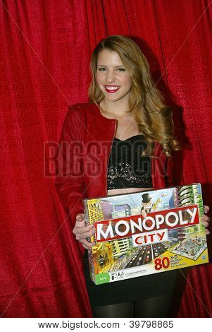 UNIVERSAL CITY - DEC. 4:Haley Read arrives at publicist Mike Arnoldi's birthday celebration & Britticares Toy Drive for Children's Hospital at Infusion Lounge on  Dec. 4, 2012 in Universal City, CA.
