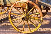 stock photo of chariot  - Old labourg chariot parts - JPG