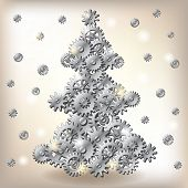 Постер, плакат: Механический Рождественская елка