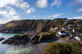 Seascape / Landscape - Cadgwith Fishing Port and Harbour - Cornwall, England