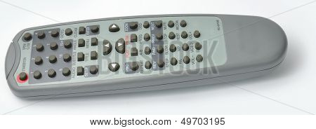 DVD Remote control from the side