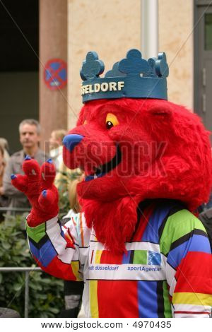 Mascot Of Duesseldorf