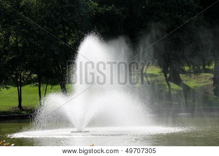Fountain Gushing