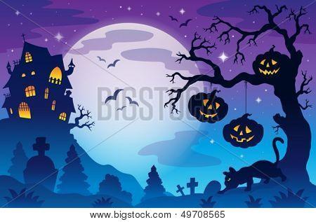 Halloween theme image 9 - eps10 vector illustration.