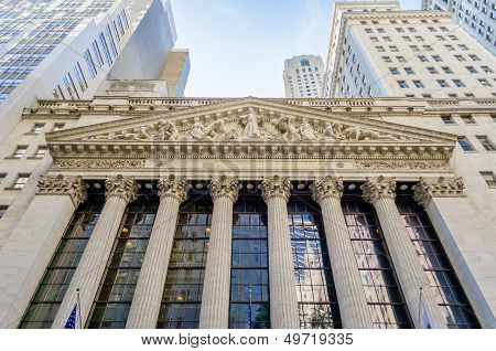 Ny Stock Exchange, Wall Street