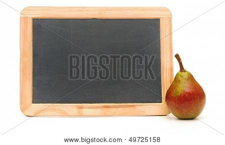 school lunch on white