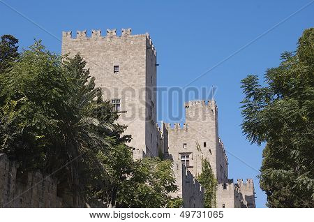 Turrets Of The Palace Of The Grand Master, Rhodes
