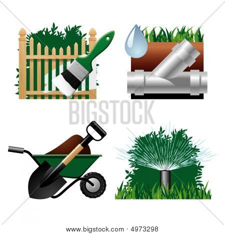 Landscaping Icons 2