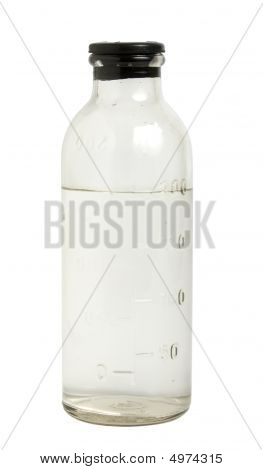 Medical Bottle With Saline