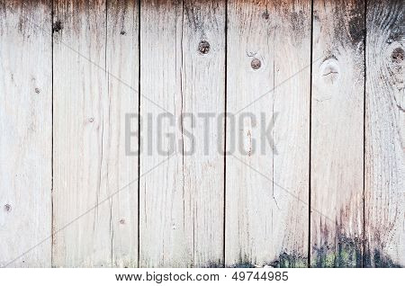 Old Planks Background