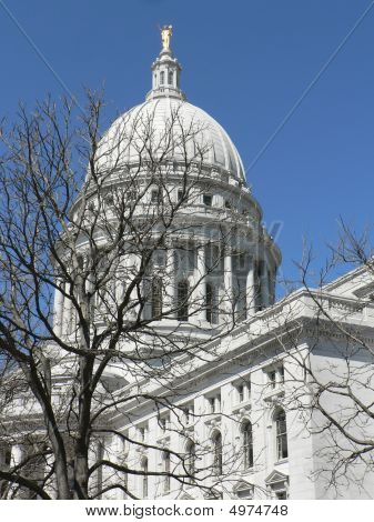 State Capitol  In Madison Wisconsin
