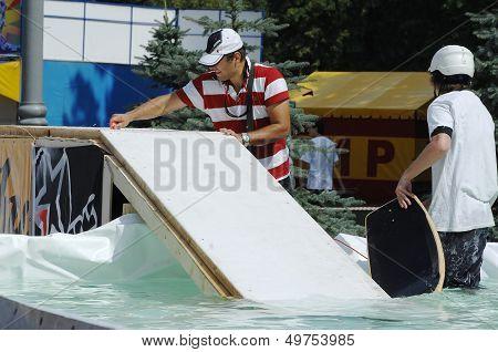 Prepare Wakeboard Show