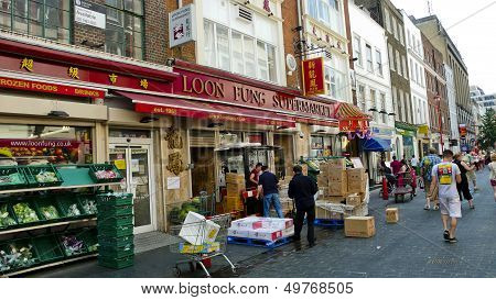 Chinatown. London. United Kingdom