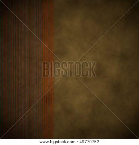 Stylish Background  With Vintage Stripes Left