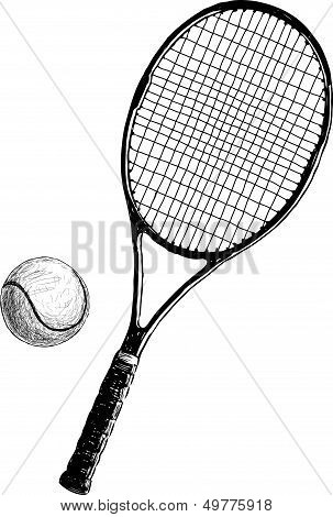 Tennis Racket.eps