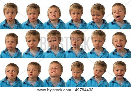 Expressions - Five Year Old Boy