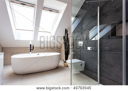 Urban Apartment - Shower And Bath