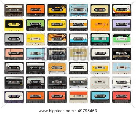 an old audio cassette poster