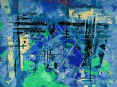 pic of acrylic painting  - abstract painting - JPG