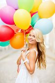 stock photo of helium  - summer holidays - JPG