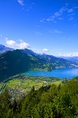 Aerial View Of Interlaken, Switzerland