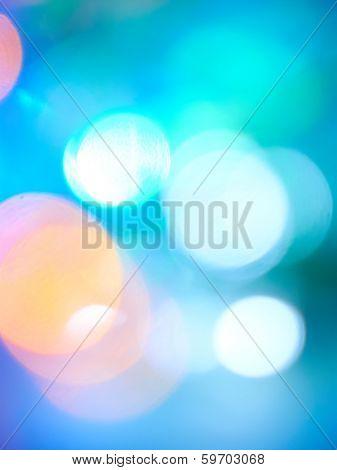 blurring lights